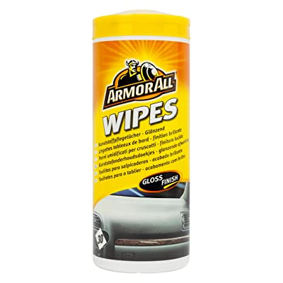 Armor All AA36030ML 1835113 AA36030M Gloss Dash Board Wipes (30 Pieces): Automotive