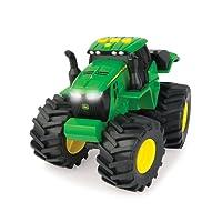 TOMY John Deere - 46656 - Tracteur Son et Lumière Monster Treads - Jouet Tracteur - Véhicule Préscolaire