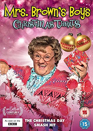 Mrs. Brown's Boys - Christmas Treats (DVD) [2017]: Amazon.co.uk ...
