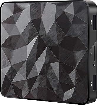 Smart TV Box Q96 Mini Amlogic S905W 2 / 16GB Android 7.1: Amazon.es: Electrónica