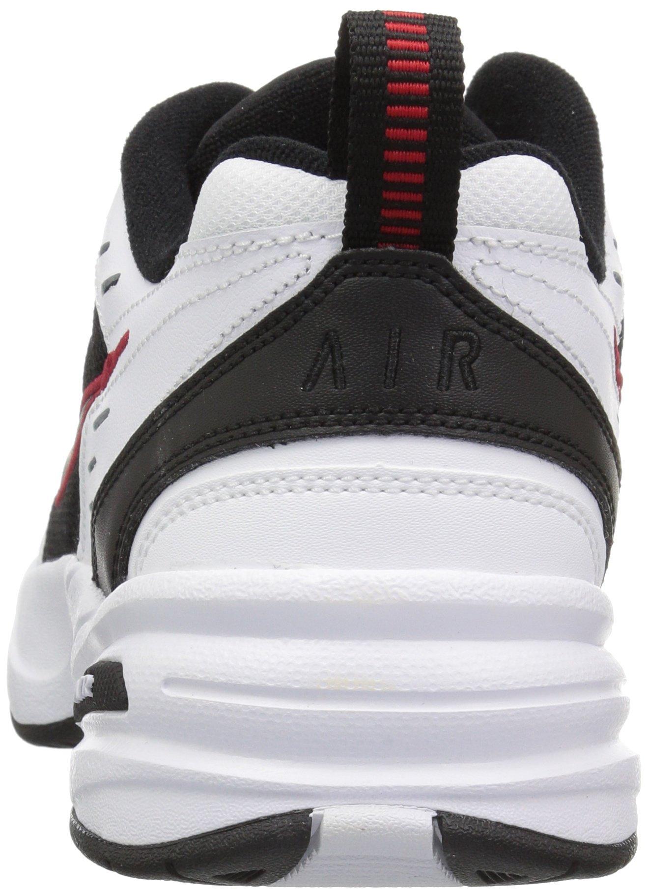Nike Men's Air Monarch IV Cross Trainer, White/Black, 6.0 Regular US by Nike (Image #2)