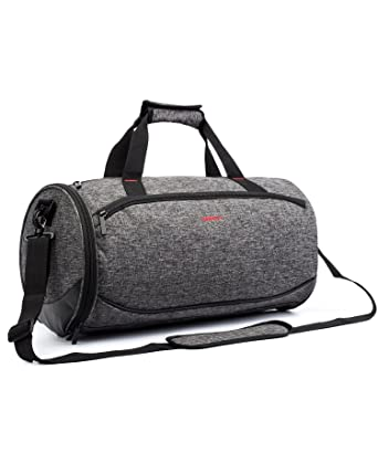 BRINCH Ultra Lightweight Small Gym Bag Sports Duffel With Shoe Compartment Durable Multi Comparment