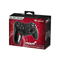 Manette pour PS4 et PS3 Pro4 black wired controller