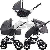 bebebi | Passeggino modello Florida | combinato 3 in 1 P | ruote con pneumatici