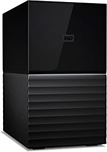 WD 20 TB My Book Duo Desktop RAID USB 3.1 External Hard Drive and Auto Backup Software