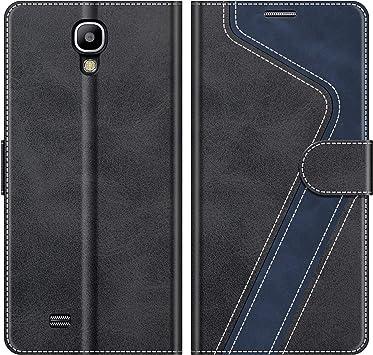 MOBESV Funda para Samsung Galaxy S4, Funda Libro Samsung S4, Funda Móvil Samsung Galaxy S4 Magnético Carcasa para Samsung Galaxy S4 Funda con Tapa, Negro: Amazon.es: Electrónica