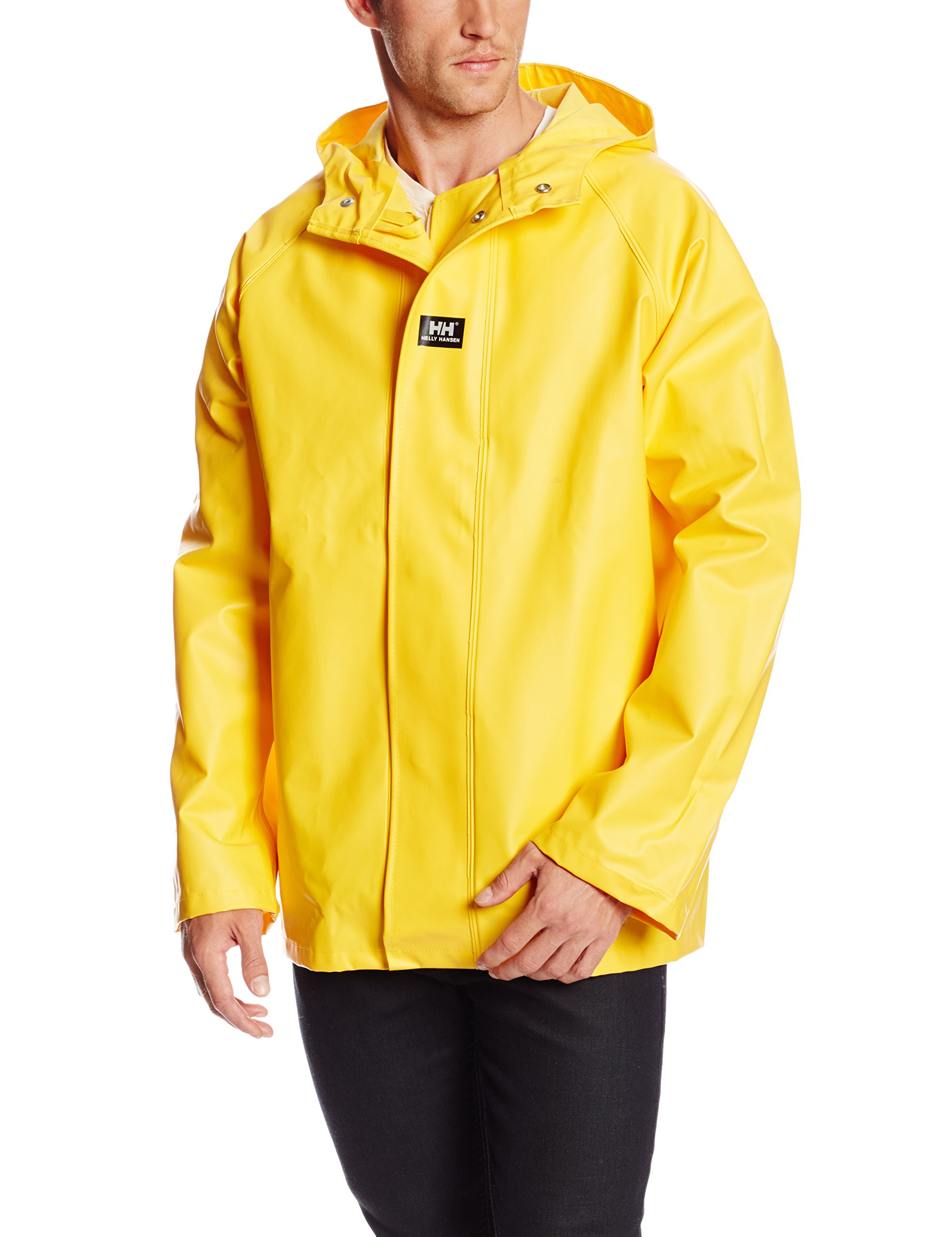 Helly Hansen Workwear Highliner Fishing Jacket, Light Yellow, 4XL