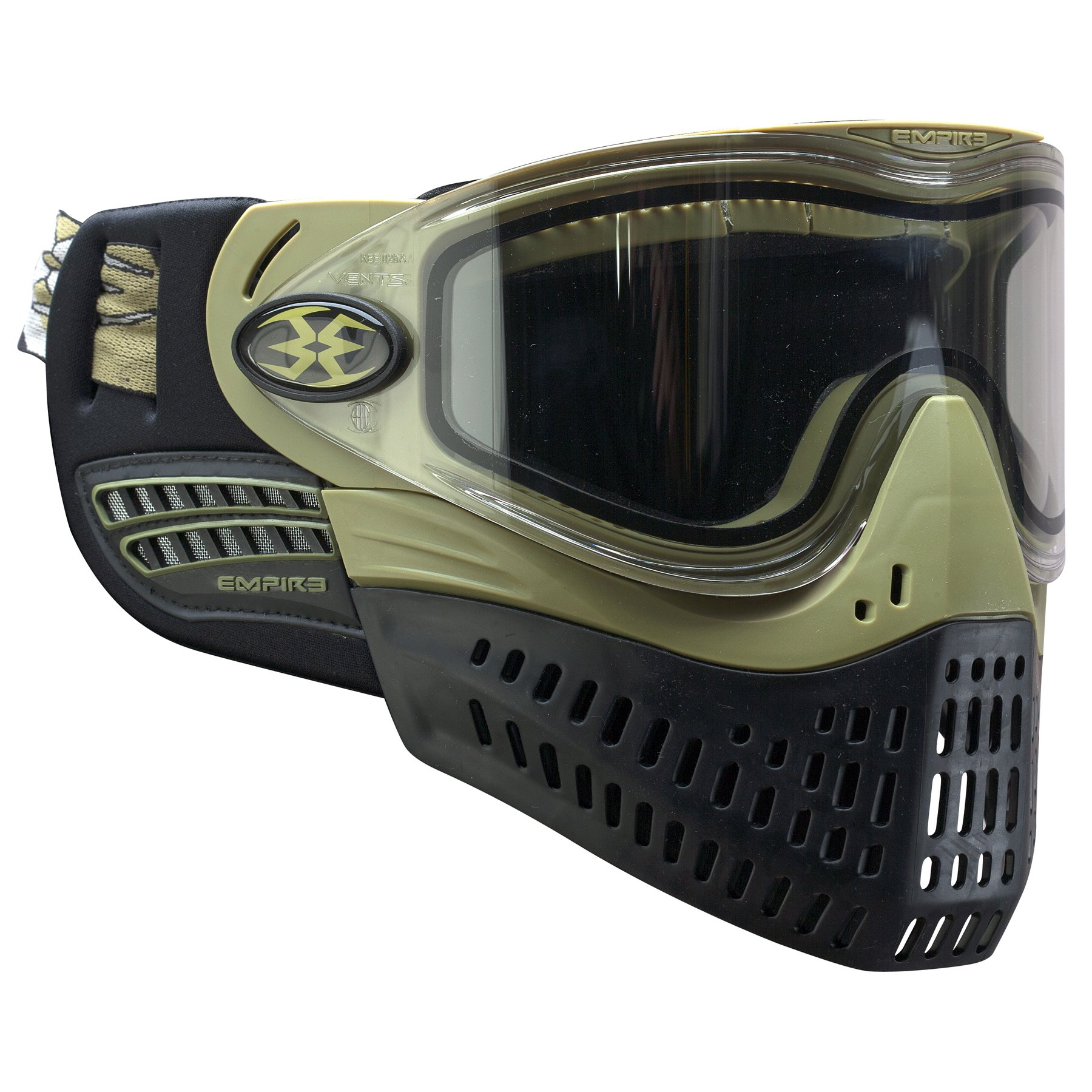 Empire Paintball e-Flex Goggle, Olive by Empire Paintball