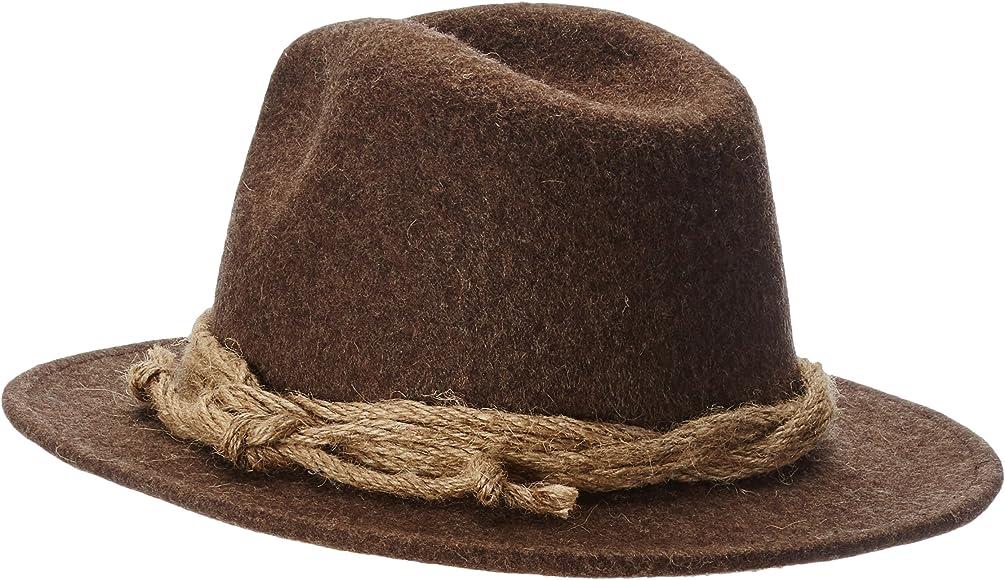 WEROR Mens /& Womens Wool Felt Hat Fedora 71 30655