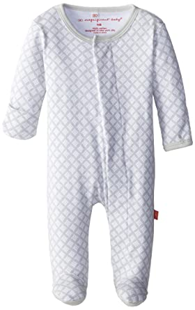 2bc2cc47664 Amazon.com  Magnificent Baby Unisex Newborn Footie  Infant And Toddler  Bodysuit Footies  Clothing