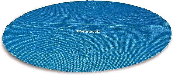 Intex 29025 - Cobertor solar para piscinas de 549 cm de diámetro ...
