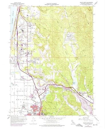 Amazon Com Yellowmaps Arcata North Ca Topo Map 1 24000 Scale 7 5
