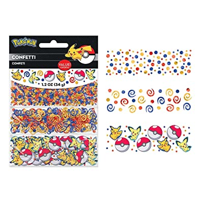 Pokemon Core Birthday Party Table Decoration Sprinkle Confetti: Toys & Games