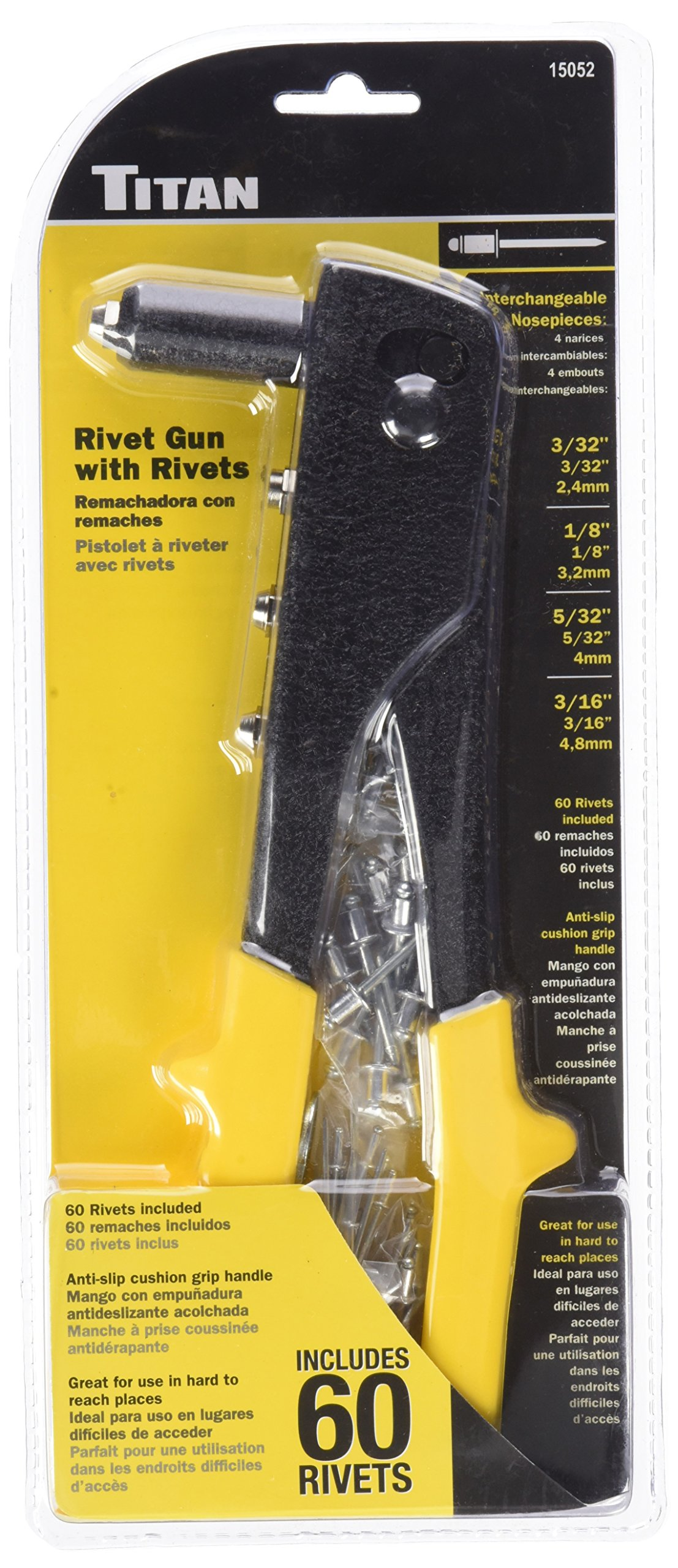 Titan TIT15052 10'' Rivet Gun (with Rivets) by Titan (Image #1)