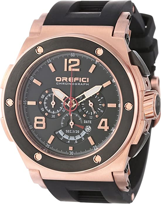 Orefici Unisex ORM1C4807 Regata Chronograph Strong Bold Powerful Italian Watch