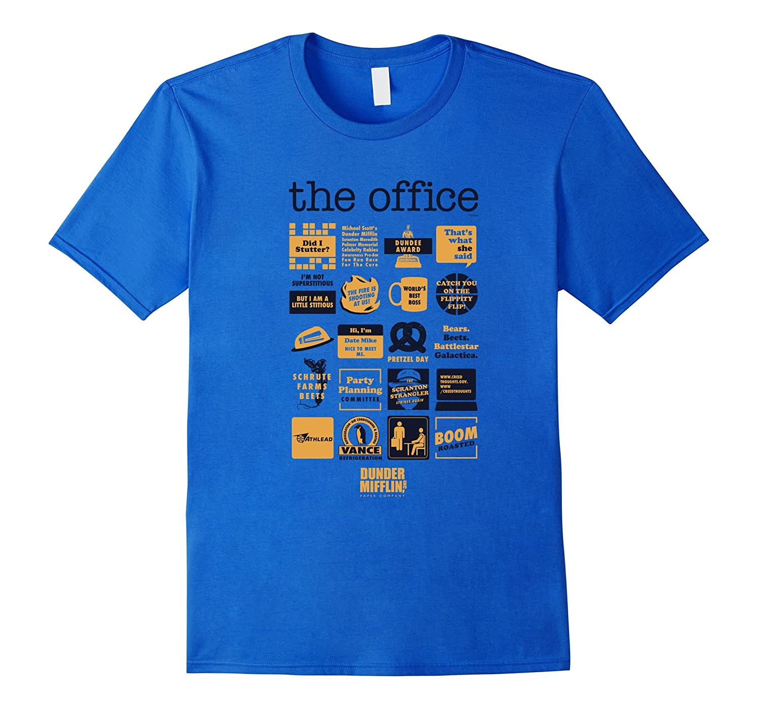 a5687ad37 The Office Quote Mash-Up Funny T-Shirt – Official Tee-Awarplus ...