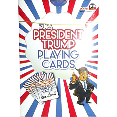 PII Industries Trump Playing Cards- 1 Deck: Toys & Games