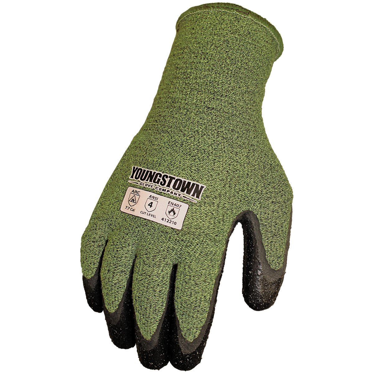 Youngstown Glove 12-4000-60-L FR 4000 Cut-Resistant Gloves, Large, Multicolored
