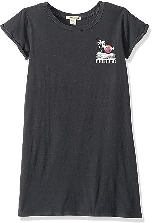 Billabong Girls Girls Heritage Palms T-Shirt Black Small//8
