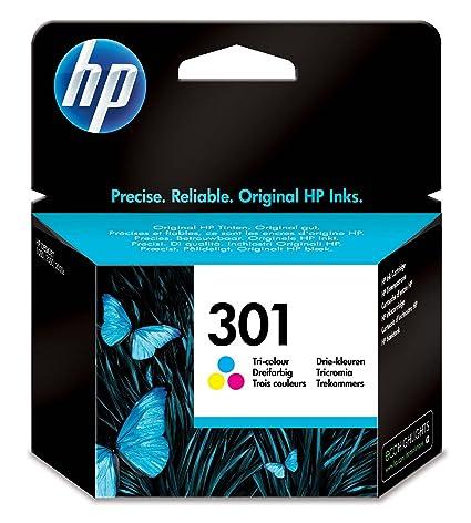 HP CH562EE 301 Cartucho de Tinta Original, 1 unidad, tricolor (cian, magenta, amarillo)