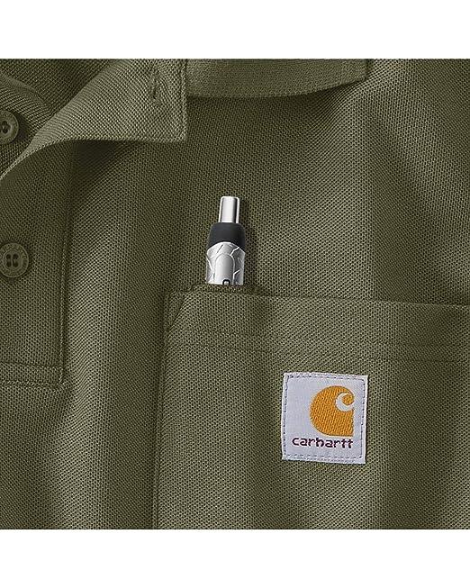 Carhartt Polo hobre K570, para Trabajo: Amazon.es: Amazon.es