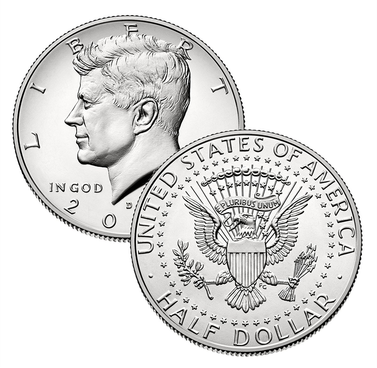2007 P Kennedy Half Dollar Single Coin Half Dollar Uncirculated US Mint