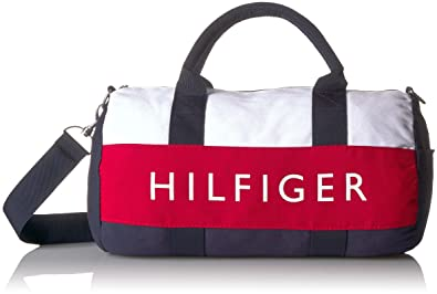 Amazon.com  Tommy Hilfiger Mini Duffle Bag Tommy Patriot Colorblock ...