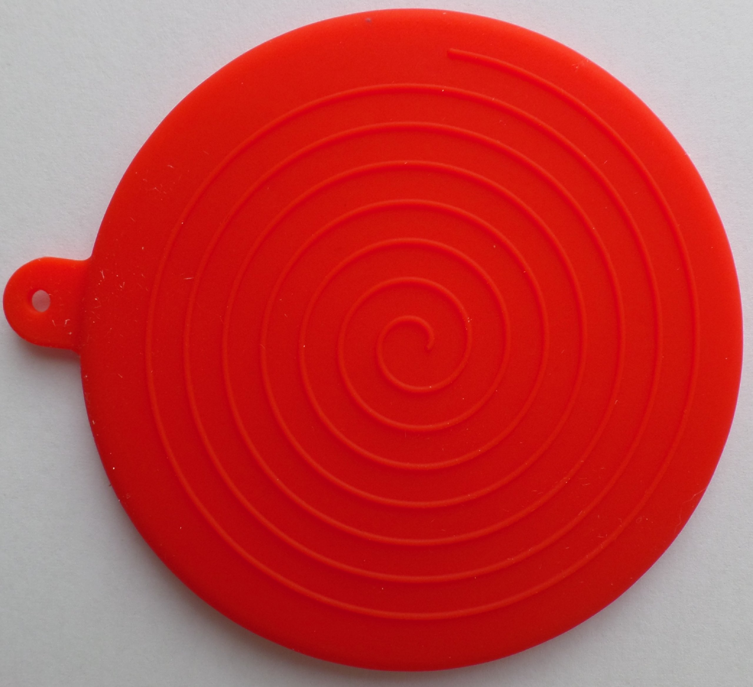 The Handy House Travel Cap for AeroPress Coffee Maker, Red by The Handy House (Image #2)
