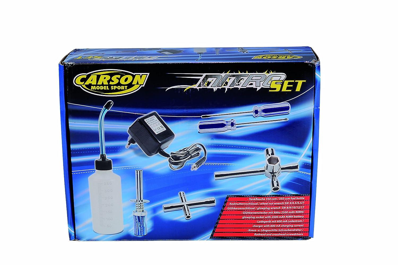 Carson 500905082 Kit Nitro Accessoires pour v/éhicules /à Combustion