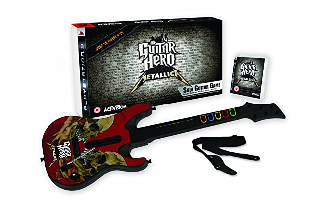 "Pack ""Guitar Hero: Metallica"" con Guitarra [PS3] [PlayStation 3"