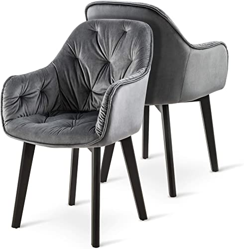 Ivinta Mid Century Velvet Dining Chair