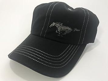 1207eaf8b3f4 Ford Mustang Black Hat Pony Emblem, Interior Accessories - Amazon Canada