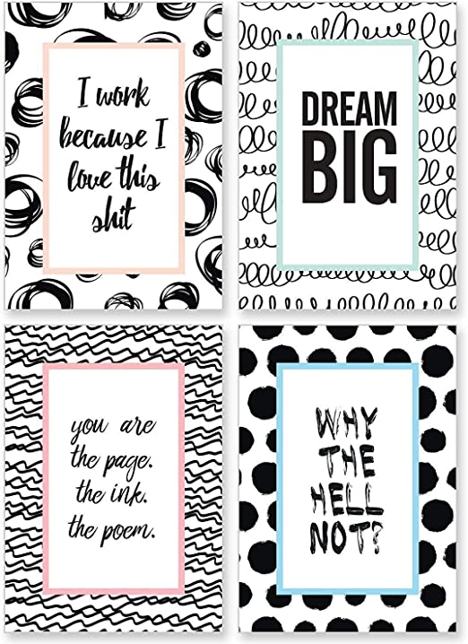 cupcakes kisses set of motivation posters i inspirational and