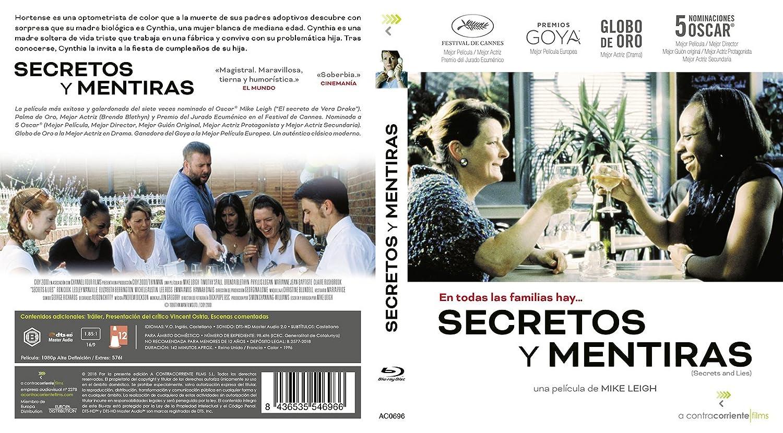 Secretos y mentiras [Blu-ray]: Amazon.es: Brenda Blethyn, Timothy Spall, MJean Baptiste, Marianne Jean-Baptiste, Elizabeth Berrington, Michele Austin, ...