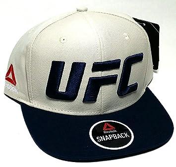Reebok UFC MMA RBK Fighter - Gorra de 2 Tonos, Color Beige, Azul ...