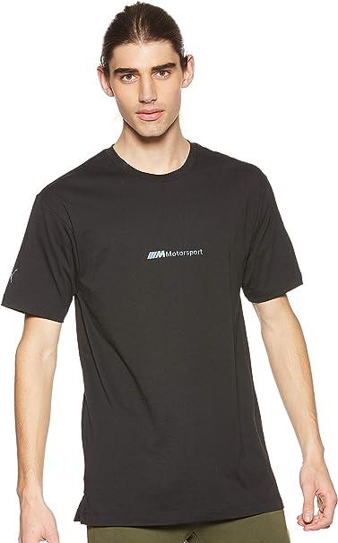 Puma Bmw Motorsport Life Herren T Shirt Puma Black M Bekleidung