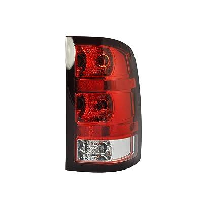 Tail Light Assembly For 2007-2013 GMC Sierra 1500 (SL, SLE, SLT, WT) - 2007-2010 GMC Sierra 2500 HD - GM2800208 - Includes Bulb: Automotive [5Bkhe1507525]