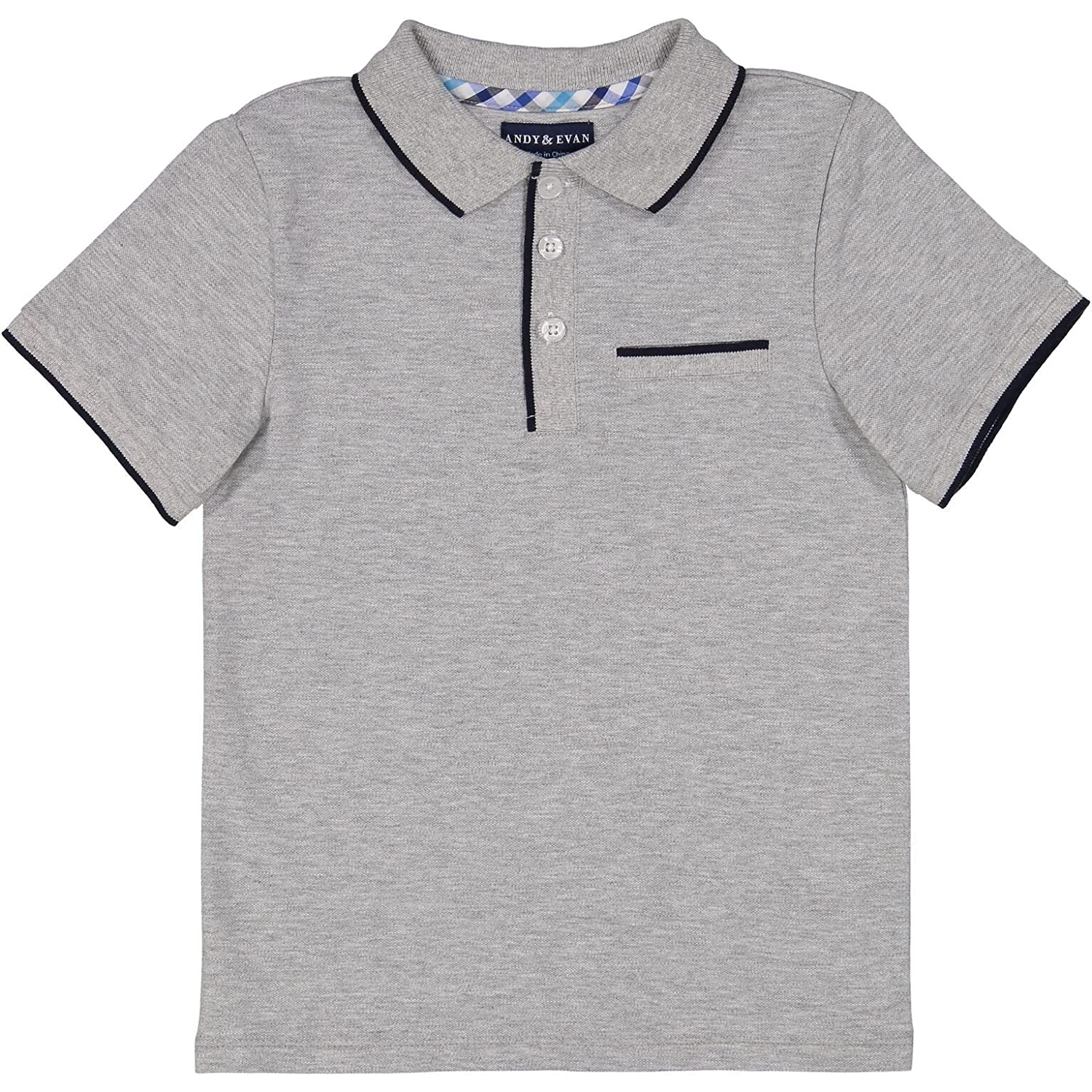 Andy & Evan Infant & Toddler Boy's Short Sleeve Polo Shirt