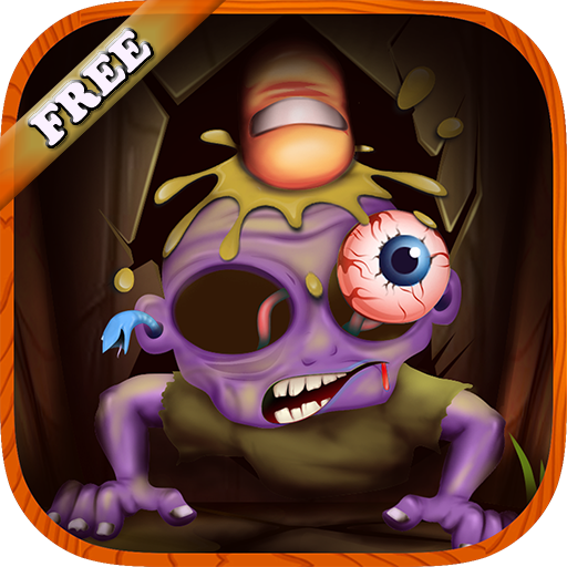 Zombies Finger Splatter : discover the world of Halloween Zombie with this amazing blood splatter game - (Toddler Wins Halloween)