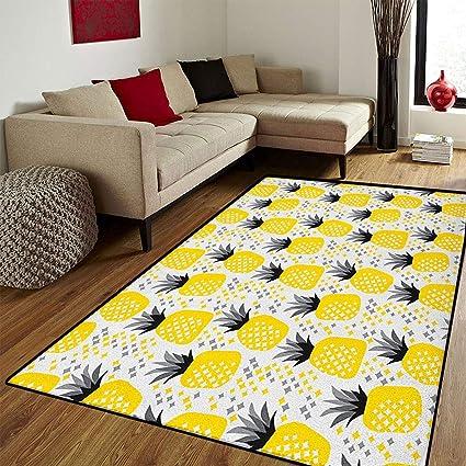 Amazon.com: Exotic, Floor Mat for Kids, Pineapples Tropic ...