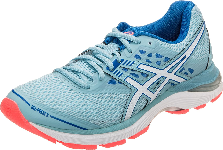 Asics Gel-Pulse 9, Zapatillas de Entrenamiento para Mujer, Azul (Porcelain Blue/White/Bleu Victoria 1401), 37.5 EU: Amazon.es: Zapatos y complementos