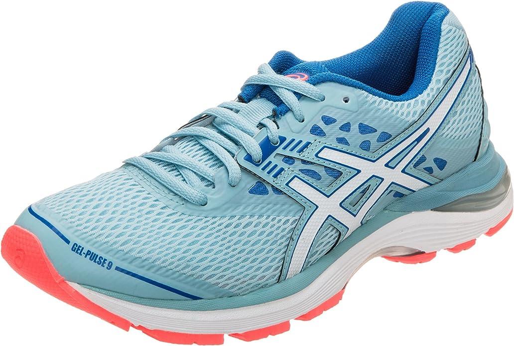 Asics Gel-Pulse 9, Zapatillas de Entrenamiento para Mujer, Azul (Porcelain Blue/White/Bleu Victoria 1401), 40 EU: Amazon.es: Zapatos y complementos