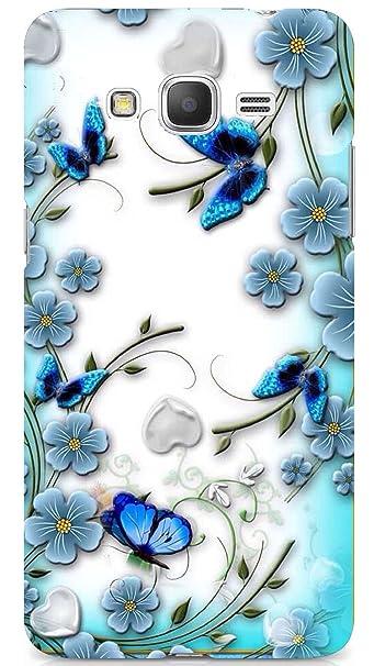 PCM Matte Finish Printed Hard Back Cover for Samsung Galaxy Grand Prime 4G  SM-G531F (Multicolour)