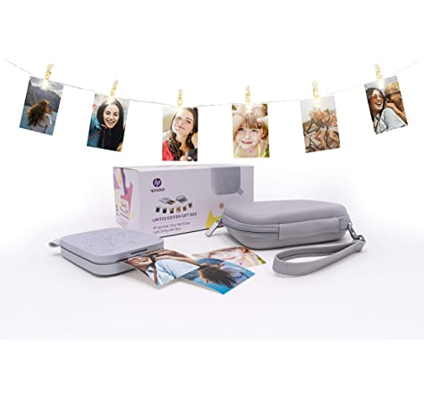 HP Sprocket Photo Printer Bundle Impresora de Foto: Amazon ...