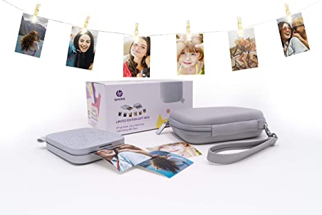 HP Sprocket 200, Impresora Fotográfica Portátil (Tecnología de ...