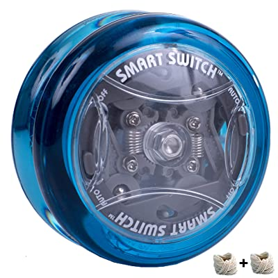 Yomega Power Brain XP yoyo - responsive professional yoyo with Smart Switch which enables Players to Choose Between auto-Return and Manual Styles of Play. + Extra 2 Strings & 3 Month Warranty: Toys & Games