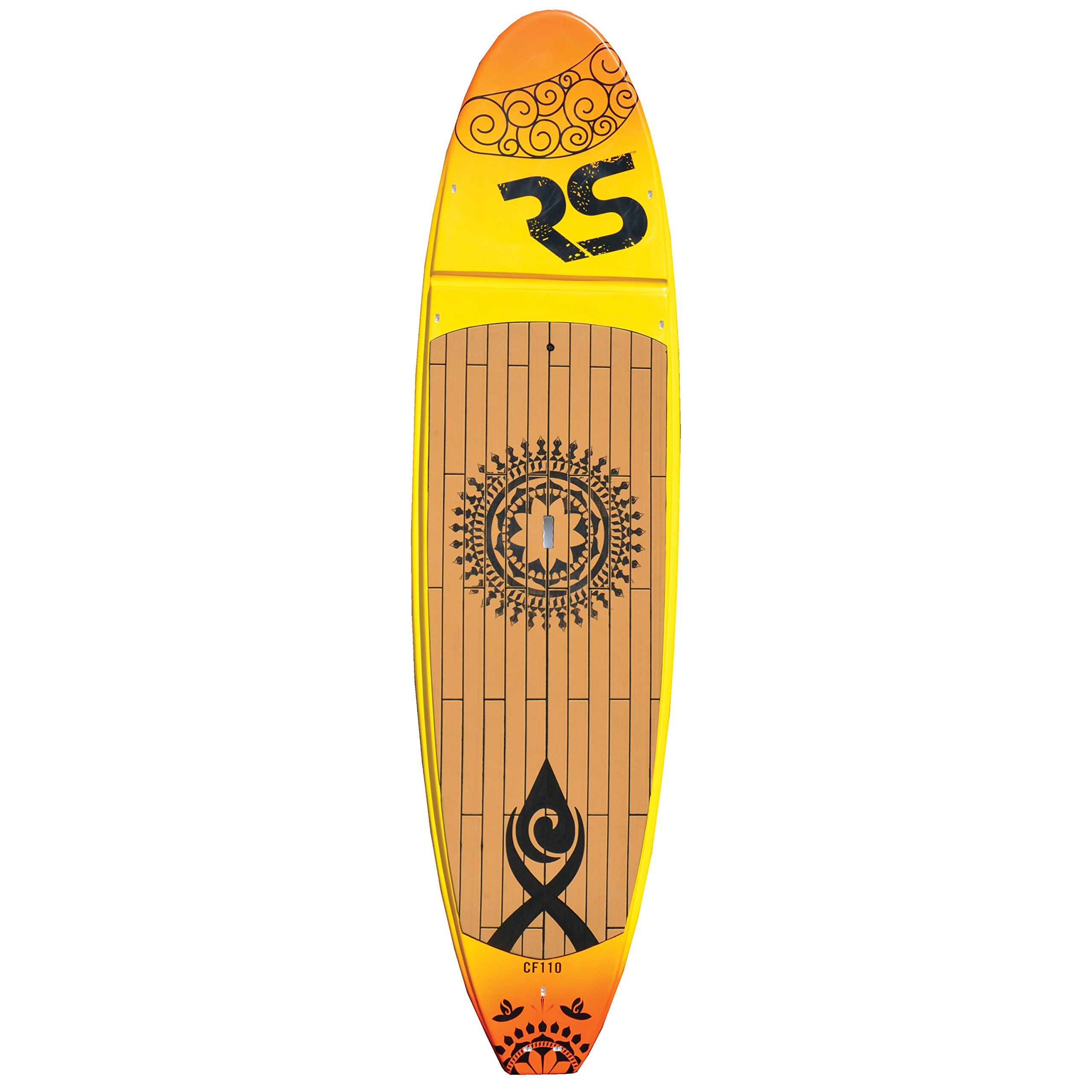 RAVE 2689 Core Crossfit SUP for Yoga & X-Training - Sunset Gold, 11' by Rave