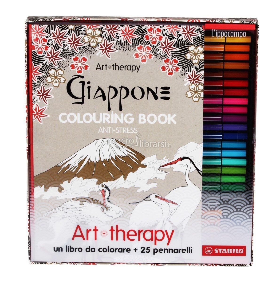 Stabilo IT 87 2386 Art Therapy Cofanetto Con 20 Pennarelli Amazonit Cancelleria E Prodotti Per Ufficio