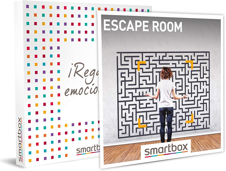 SMARTBOX - Caja Regalo - Escape Room - Idea de Regalo - 1 Experiencia de Aventura en Escape Room para divertirse Entre 4 y 7 Personas: Amazon.es: Deportes y aire libre