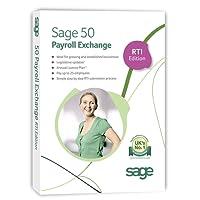 Sage 50 Payroll Exchange - 25 employees: RTI Edition (PC)